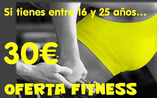 Oferta fitness joven for Gimnasio villaviciosa de odon